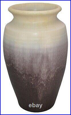 Ephraim Faience Pottery 1998 Large Jargo Art Deco Ceramic Vase 822