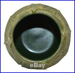 Ephraim Faience Pottery 2000 Curdle Glaze Begonia Vase 012
