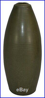 Ephraim Faience Pottery 2001 Dragonfly Vase 817