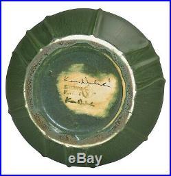 Ephraim Faience Pottery 2003 Wild Iris Vase 316