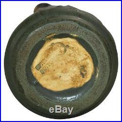 Ephraim Faience Pottery 2004 Climbing Black Bear Vase 406