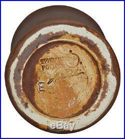 Ephraim Faience Pottery 2004 Experimental Flying Scarab Vase 428