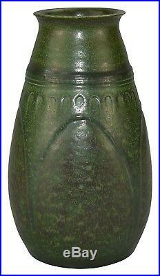 Ephraim Faience Pottery 2005 Experimental Unity Bridge Tall Vase
