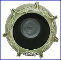 Ephraim Faience Pottery 2005 Grueby Style Bulbous Seven-Handled Vase 962