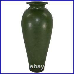 Ephraim Faience Pottery 2006 Flying Cranes Ceramic Show Piece Vase 652