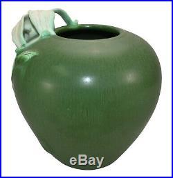 Ephraim Faience Pottery 2006 Garden Lily Ceramic Vase 232
