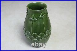 Ephraim Faience Pottery 2006 Kevin Hicks Midnight Garden Vase