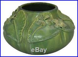 Ephraim Faience Pottery 2007 Experimental Wood Violet Vase B09