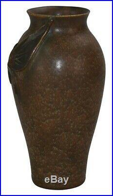 Ephraim Faience Pottery 2010 Experimental Butterfly Cabinet Vase D11