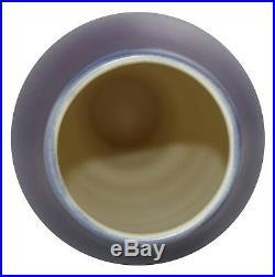 Ephraim Faience Pottery 2013 Calm Seas Scenic Vase G10-AS