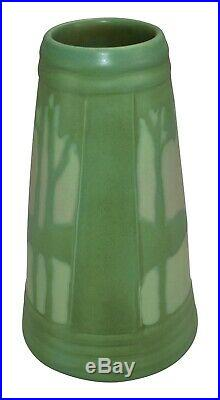 Ephraim Faience Pottery 2014 Rock Lake Scenic Sunrise Ceramic Vase H11