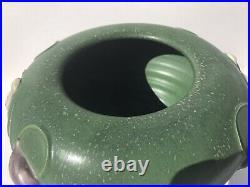 Ephraim Faience Pottery Bleeding Heart Vase. #221 Retired 2004. Mint Condition