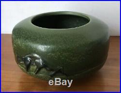 Ephraim Pottery Creeping Panther Vase