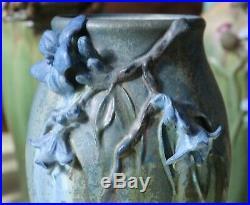 Ephraim Pottery Experimental Vase Blue Blossoms PDL1475QS