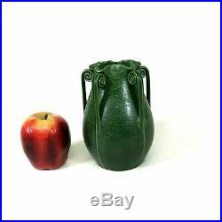 Ephraim Pottery Fern Vase Green Matte Glaze 6.25
