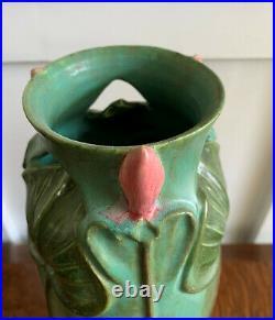 Ephraim Pottery Surfacing Waterlily Vase