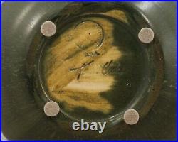 Ephraim Pottery Three Iris Vase