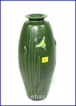 Ephraim Pottery vase, signed Kevin Hicks, 12 H