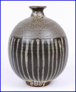 Exceptional Robert Sperry Chocolate Glazed Studio Pottery Vase Perfect