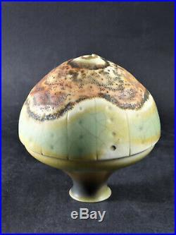 Exquisite Geoffrey Swindell Studio Pottery Porcelain Signed Vase British Art