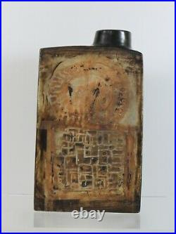 Fab Early Troika Pottery St Ives Early Chimney Vase Stoveman Studio Pottery Art