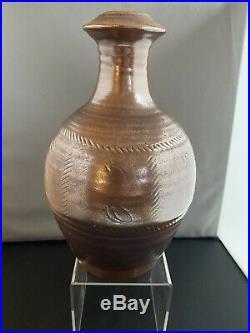 Fabulous Large Ray Finch Winchcombe Bottle Vase