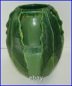 Fabulous Vintage Ephraim Faience Arrow Root Pottery Vase