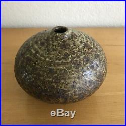 Fine Vintage Vivika Otto Heino Studio Art Pottery Weed Pot Vase California