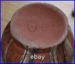 GERHARD LIEBENTHRON Big Floor Design Vase 1977 artpottery WGP Studiopottery