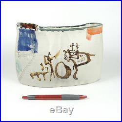 GILBERT PORTANIER Studio Kunst Keramik Vase Unikat Frankreich 75 France pottery