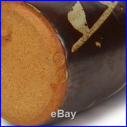 Geoffrey Whiting Avoncroft Wax Resist Studio Pottery Vase