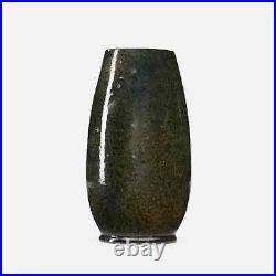 George Ohr Beautiful Speckled glaze Vase, Spectacular