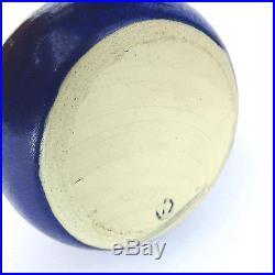 Gerald & Gotlind Weigel Keramik Vase WGP Vtg German Studio Pottery Modernist 60s