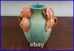 Gorgeous & Large 2020 / 2021 Ephraim Faience EXPERIMENTAL Irises Vase