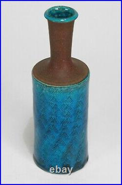 HAK Pottery studio Nils Herman Kahler blue mid century modern ceramics Denmark