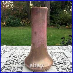 H. Marmorstein Art Pottery Vase Early 20th Cent Crackled Iridescent Glaze 11.5