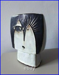 Helmut Schaffenacker sculpture German mid-century WGP Schäffenacker MCM ceramic