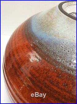 Huge Guy Sydenham Masterpiece For Poole Pottery! Perfect Condition Vase