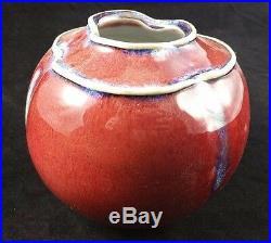 James Jim Nan McKinnell Studio Ceramic Pottery Vase
