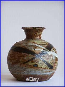 Janet Leach St Ives Studio Pottery Signed Art Vase Leach Studios