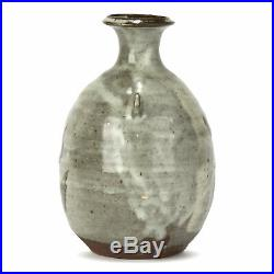 Janet Leach Studio Pottery Glazed Bottle Vase 20th C