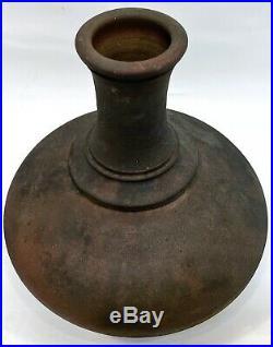 Jay Gogin Key West Signed Studio Art Pottery Raku Vase 1992