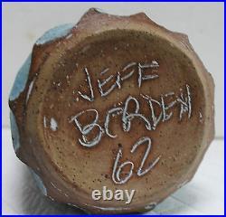 Jeff Borden Stoneware Vase, 1962