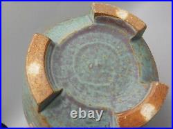 Jeffrey Oestreich Studio Pottery Tripod Vase Warren Mackenzie Student Art Deco