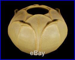 Jemerick Arts & Clay Company Arts & Crafts Style Studio Pottery Artichoke Vase