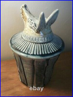 Jennie Hale Anubis Jar 20 cm 1980's