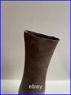 Joanna Constantinidis Tall Bottle Vase. Fantastic Glaze