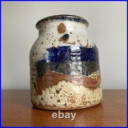 John Glick Plum Tree Pottery Vintage Ceramic Vase Cranbrook Artist