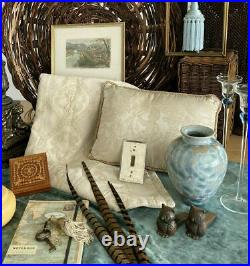 John Mankameyer Manka Blue Crystalline Glaze Studio Pottery Vase Arts Crafts