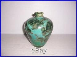 Jon Price Ceramic Crystalline Glazed Pottery Vase 6 3/8 x 4 3/4